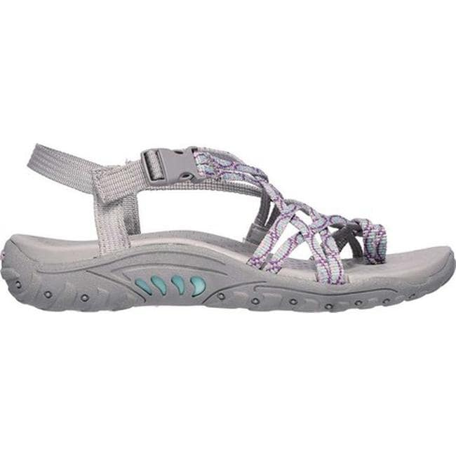 Skechers Girls Thong Sandals Miss Adventure Black and Hot Pink Choose Your Size