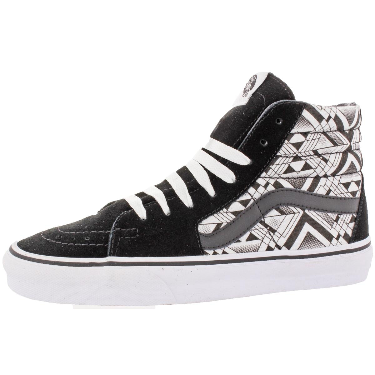 Shop Vans Womens Sk8-Hi Skate Shoes Suede Trim High Top - 6.5 Medium ... 96b47b3e03