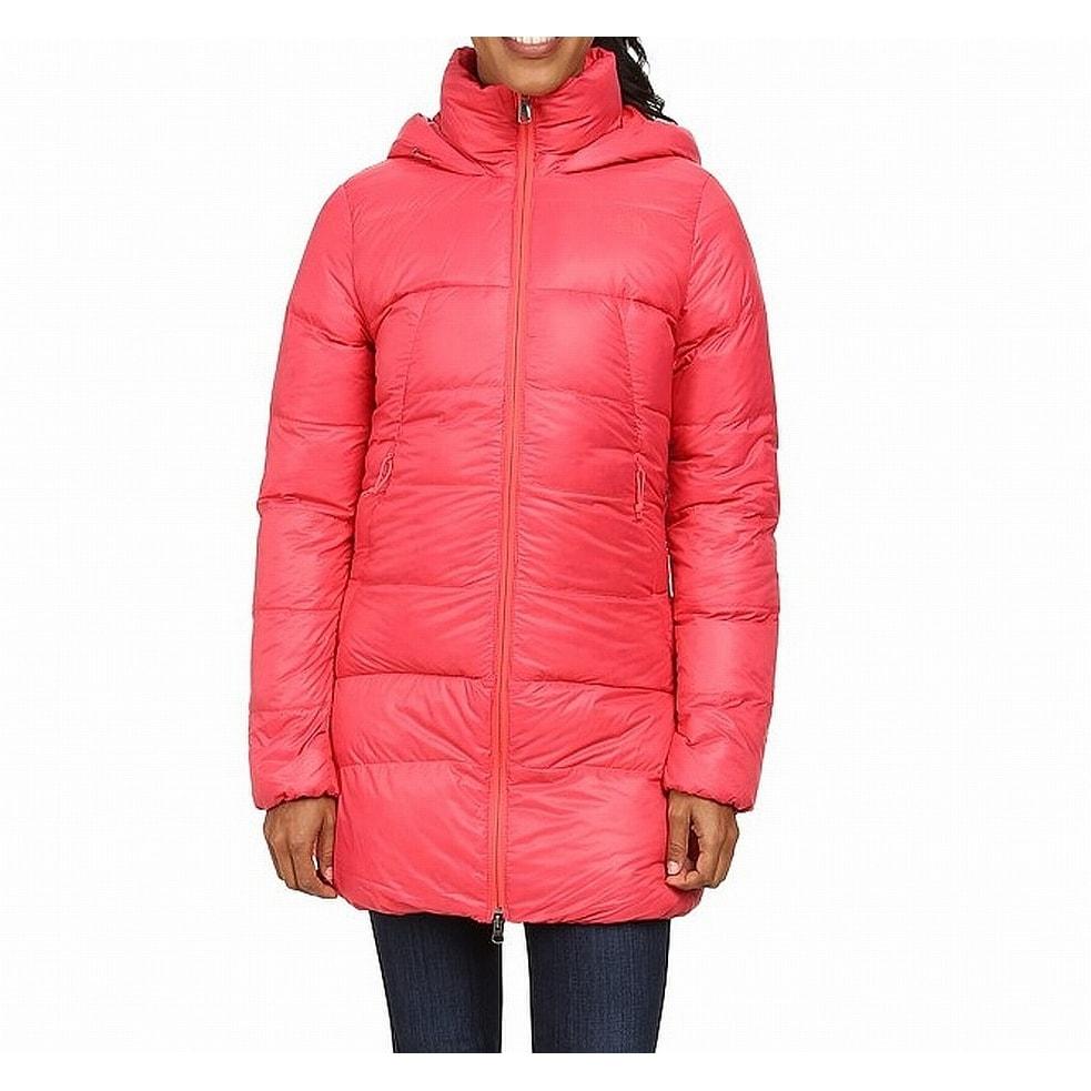 6e8b2e42627e7 Shop The North Face Red Womens Size Medium M Puffer Journey Parka ...