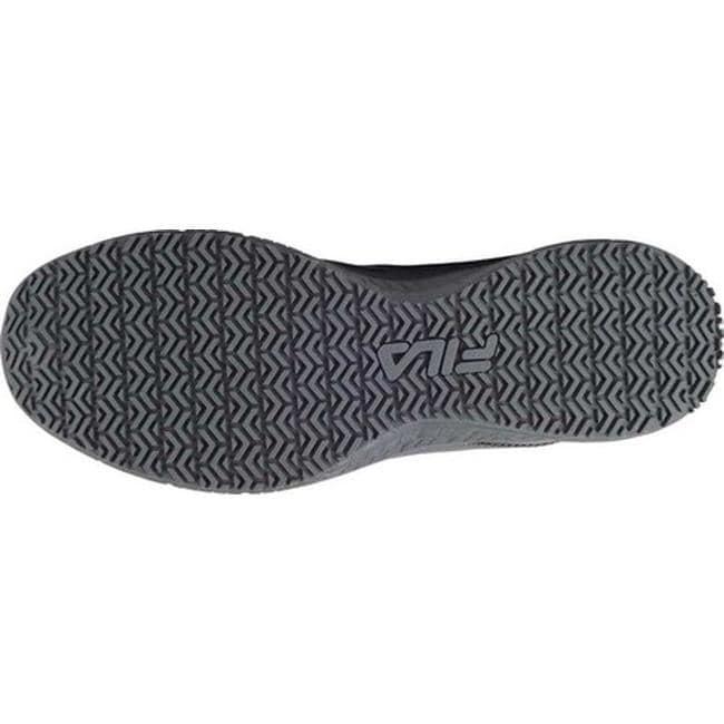 73206efd578 Shop Fila Men s Memory Bouncelight Slip-Resistant Jogger Sneaker Castlerock  Fila Navy Castlerock - Free Shipping On Orders Over  45 - Overstock.com -  ...