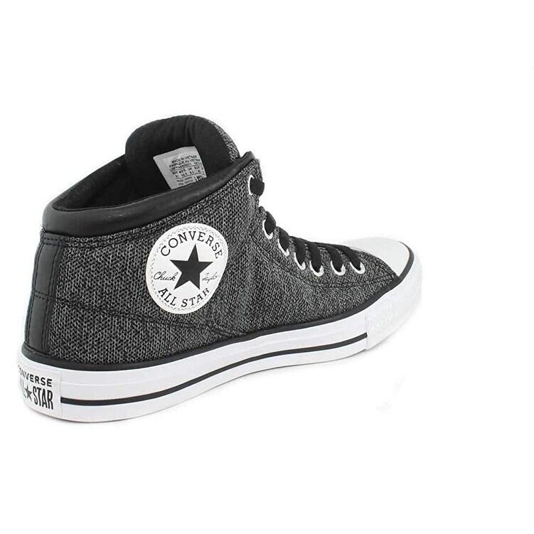 Shop Converse Unisex Chuck Taylor All Star High Street Hi-Top Black Mason  White Sneaker 5735e7aee
