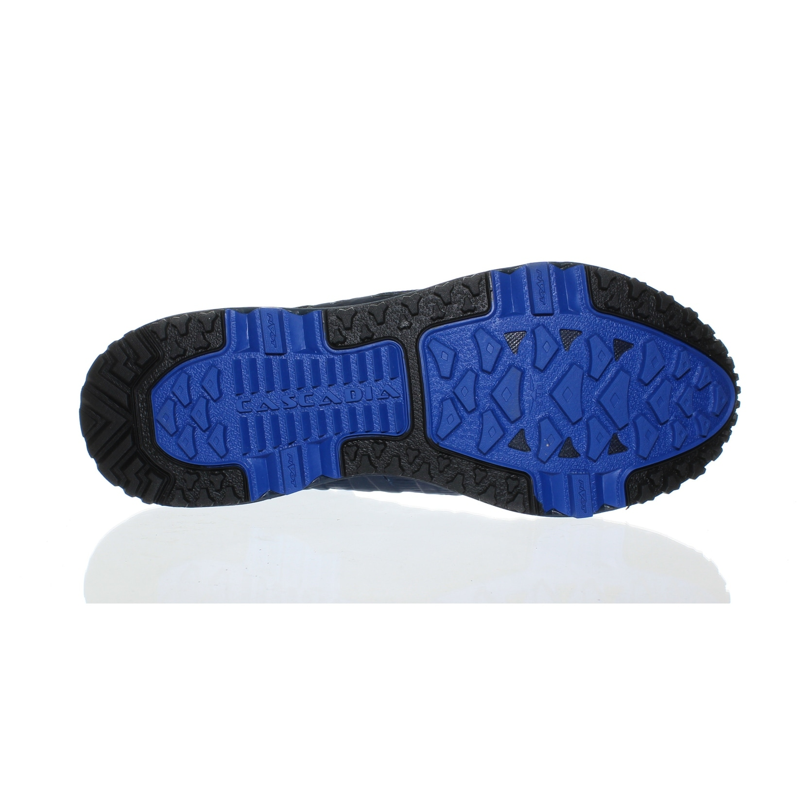 37cdbc08a8fa6 Shop Brooks Mens Cascadia 11 Gtx Blue Running Shoes Size 10.5 - Free  Shipping Today - Overstock - 25706921