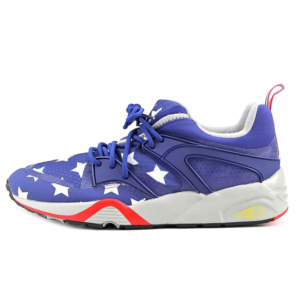 Shop Puma Blaze of Glory RWB Men Round Toe Synthetic Multi Color Tennis Shoe  - Free Shipping Today - Overstock - 16535982 0a54bf7fd