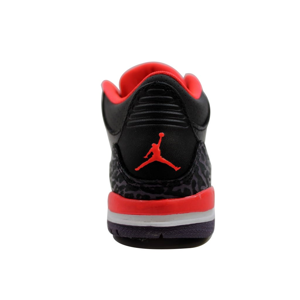 Shop Nike Toddler Air Jordan III 3 Retro Black Bright Crimson-Canyon Purple-Pure  Violet Joker 832033-005 - Free Shipping On Orders Over  45 - Overstock - ... 334187566