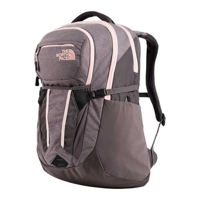 03e3e5ab0 Shop The North Face Women's Recon Backpack Rabbit Grey Light Heather/Pink  Salt - US Women's One Size (Size None) - Free Shipping Today - Overstock -  ...