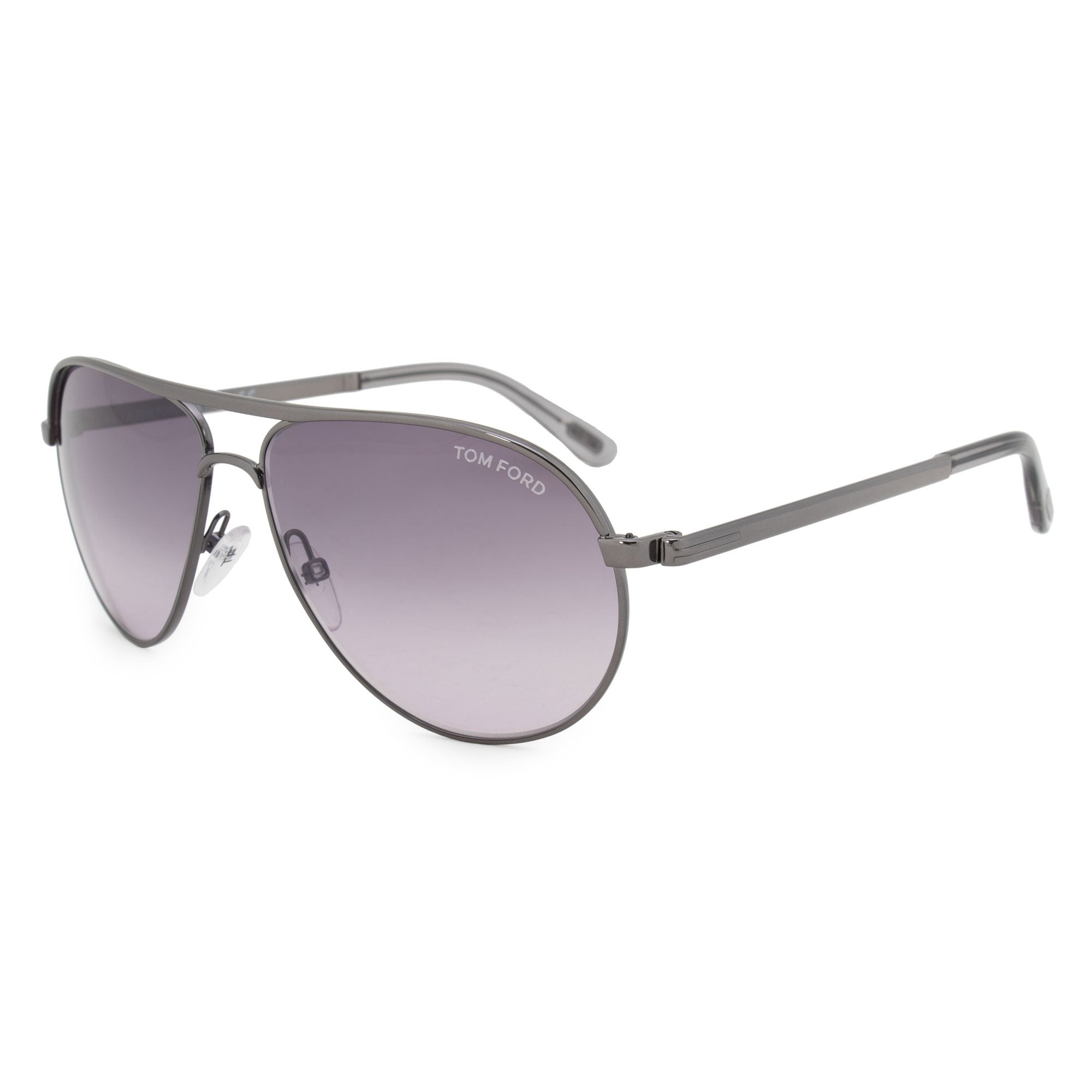 7450253e418 Shop Tom Ford Marko Aviator Sunglasses FT0144 08B 58 - Free Shipping Today  - Overstock - 23138853