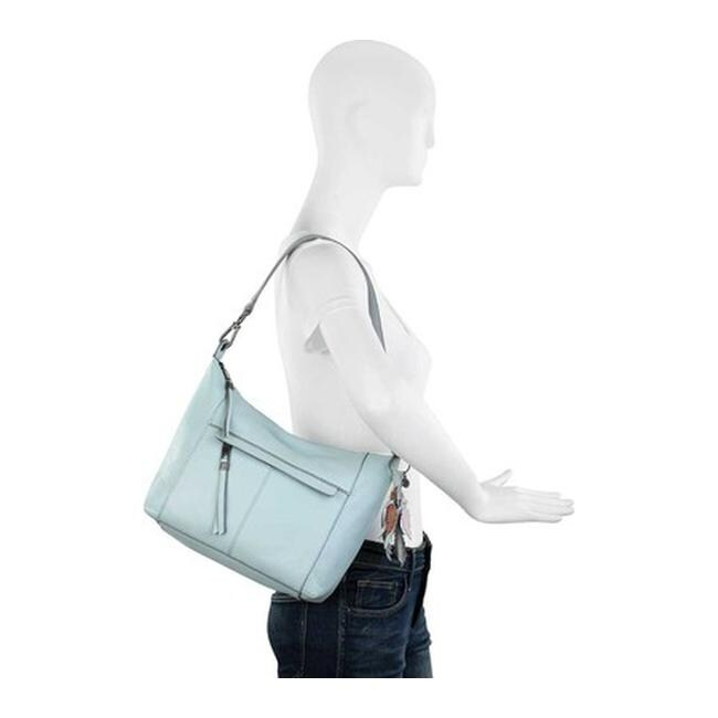 Shop THE SAK Women s Alameda Hobo Sky Blue Leather - US Women s One Size  (Size None) - Free Shipping Today - Overstock - 25669574 9c04e3b7eaeb6