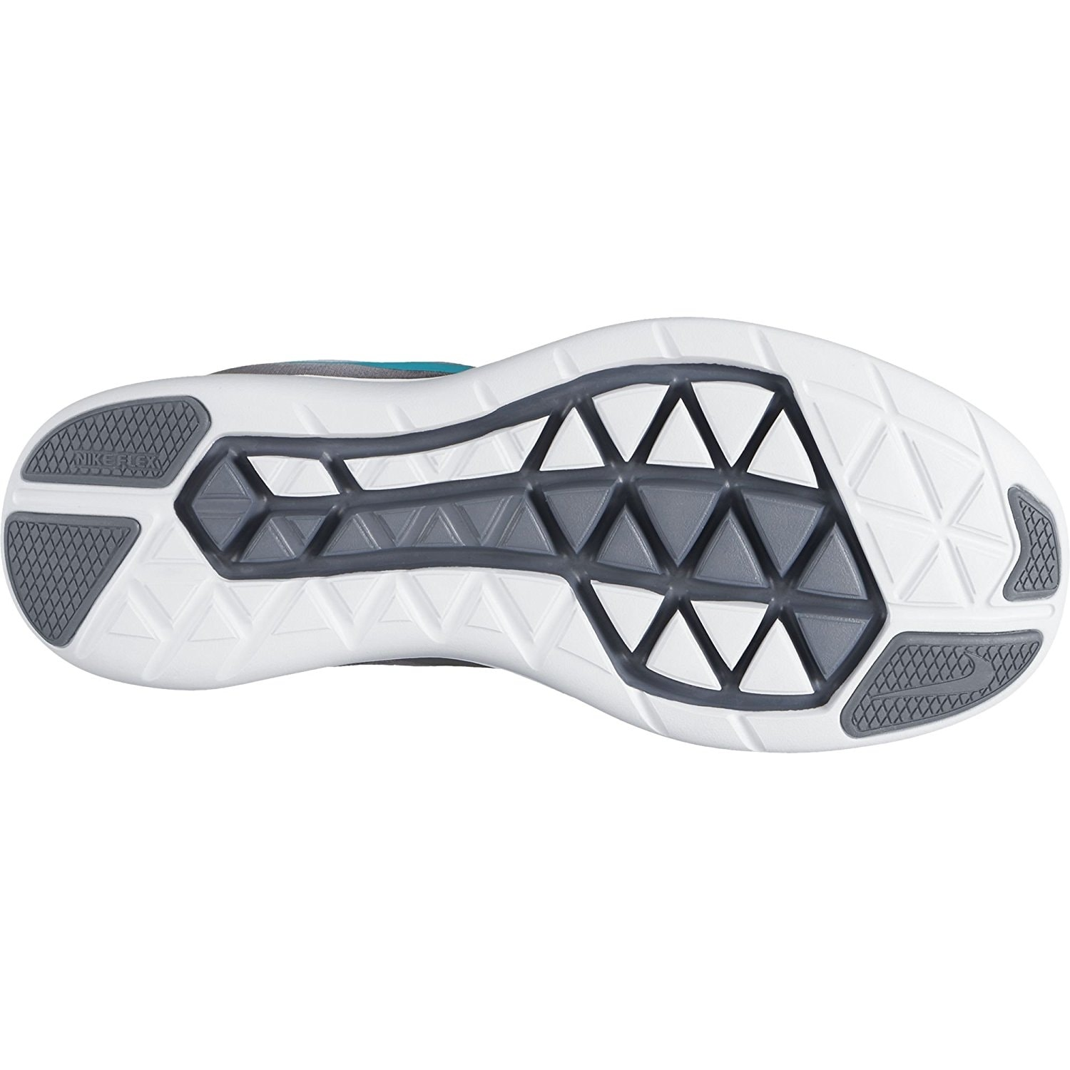 f61f78a08da9f Shop Nike Women s Flex 2017 Running Shoes Pure Platinum  Clear Jade-Grey  Black - Free Shipping Today - Overstock - 17949926