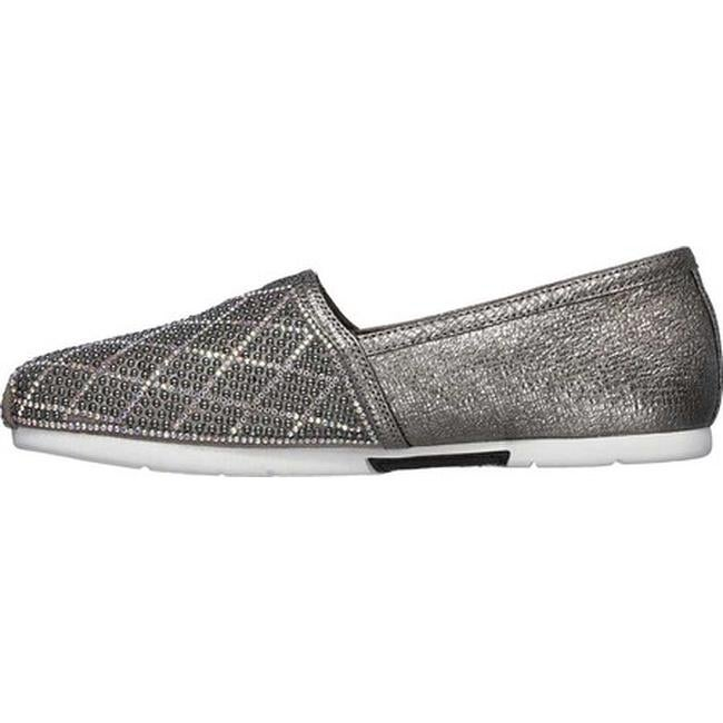 67b55c186051 Shop Skechers Women s Luxe BOBS Luxe Elite Alpargata Pewter - Free Shipping  Today - Overstock - 24300473