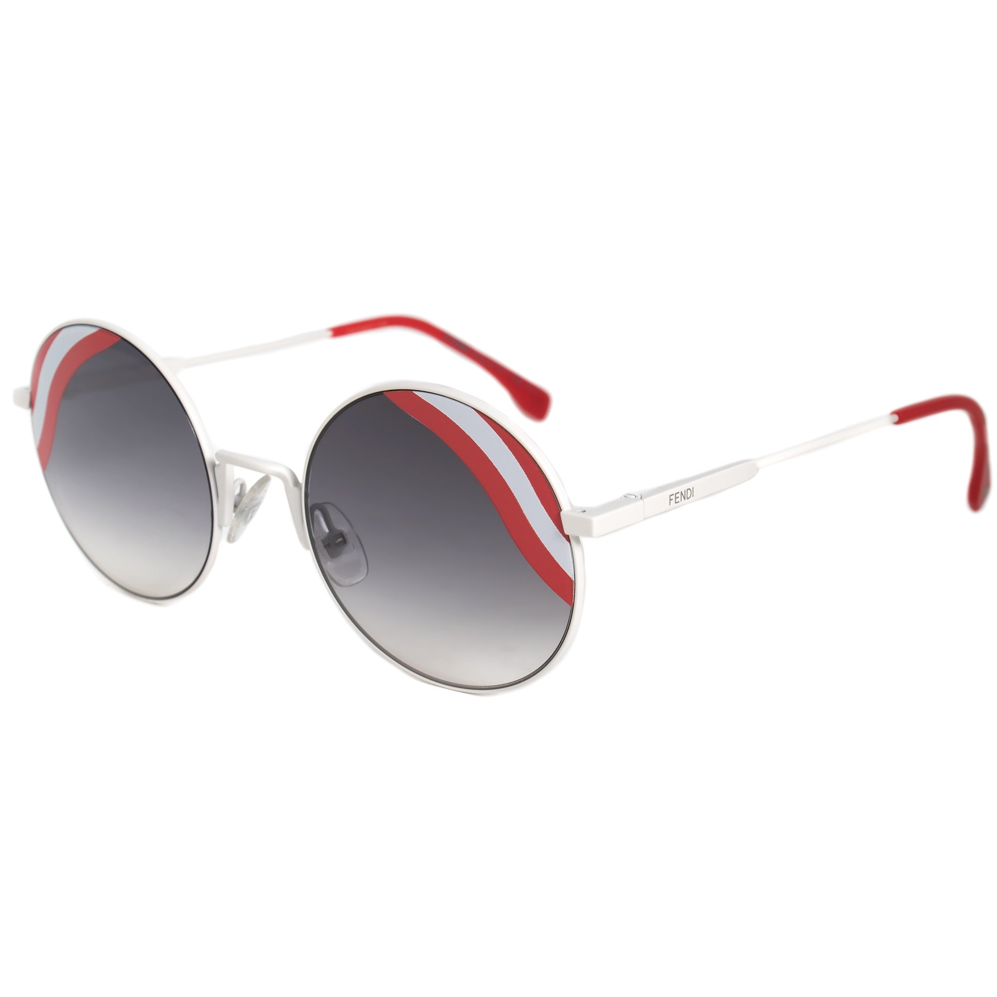 95e1ab3ee13 Shop Fendi Waves Round Sunglasses FF0248S VK6 9O 53 - Free Shipping Today -  Overstock.com - 19622514