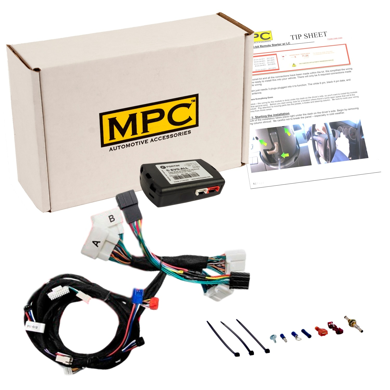 Shop Complete Add On Remote Start Kit For 2016 2018 Toyota Tacoma Wire Harness With T And Bypass Module Uses Factory Remotes Free Shipping Today