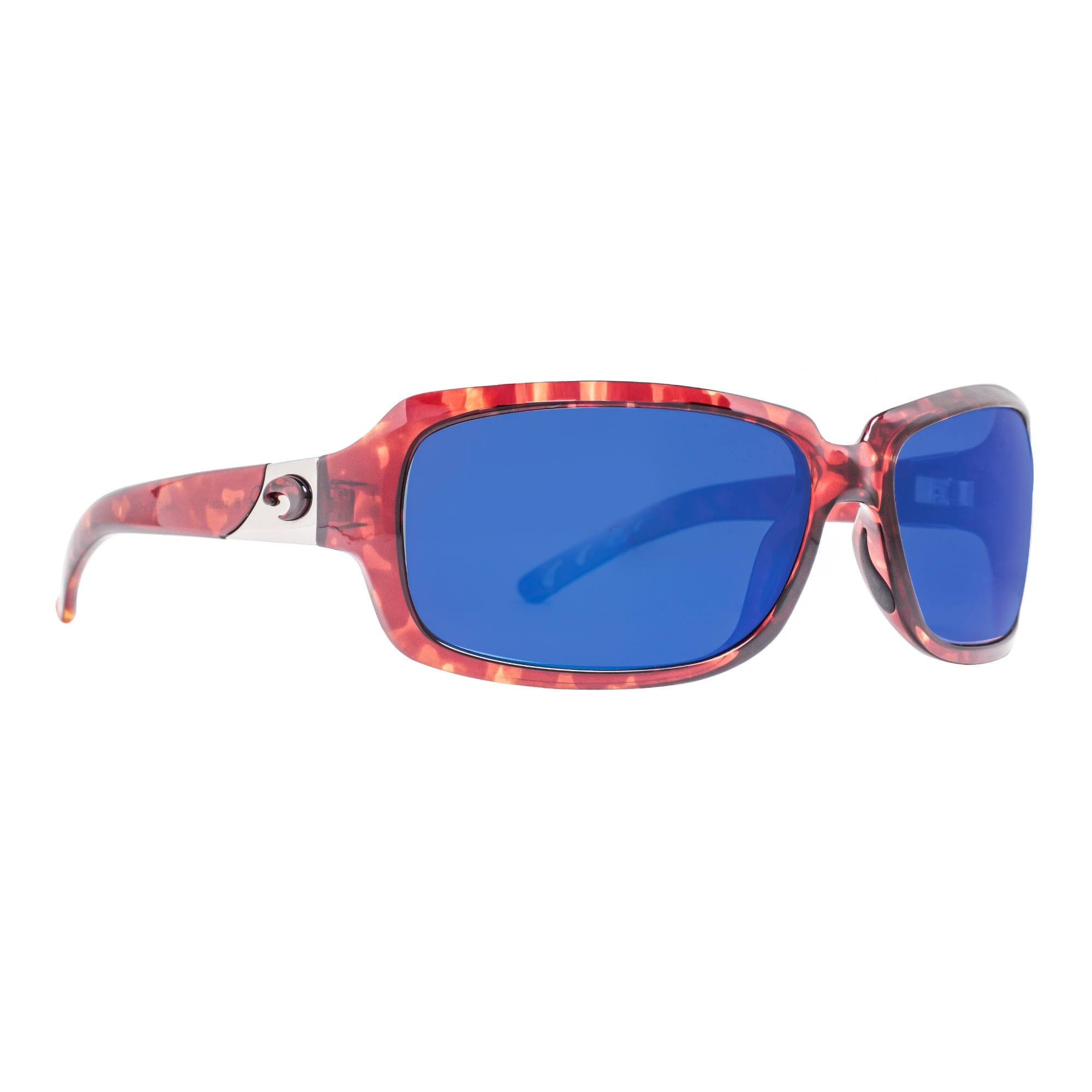 dce48388cd Shop Costa Del Mar Isabela IB10OBMP Tortoise Brown 580P Blue Mirror Wrap  Sunglasses - tortoise brown - 63mm-17mm-124mm - Free Shipping Today -  Overstock.com ...