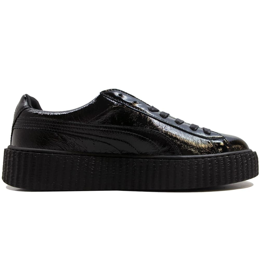 buy online f6773 57002 Puma Men's Creeper Cracked Leather Puma Black Puma X Fenty Rihanna  364641-01 Size 12