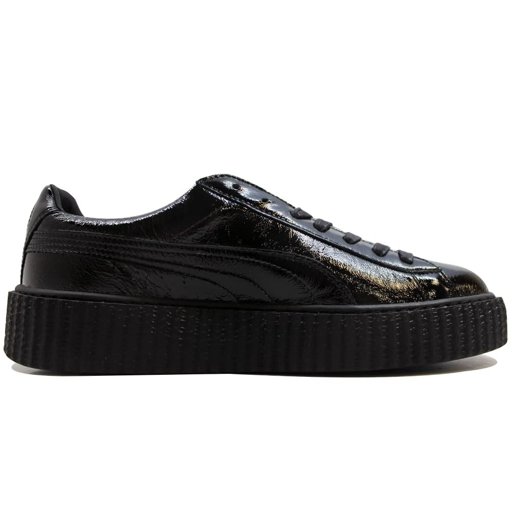 buy online 5053a 45055 Puma Men's Creeper Cracked Leather Puma Black Puma X Fenty Rihanna  364641-01 Size 12