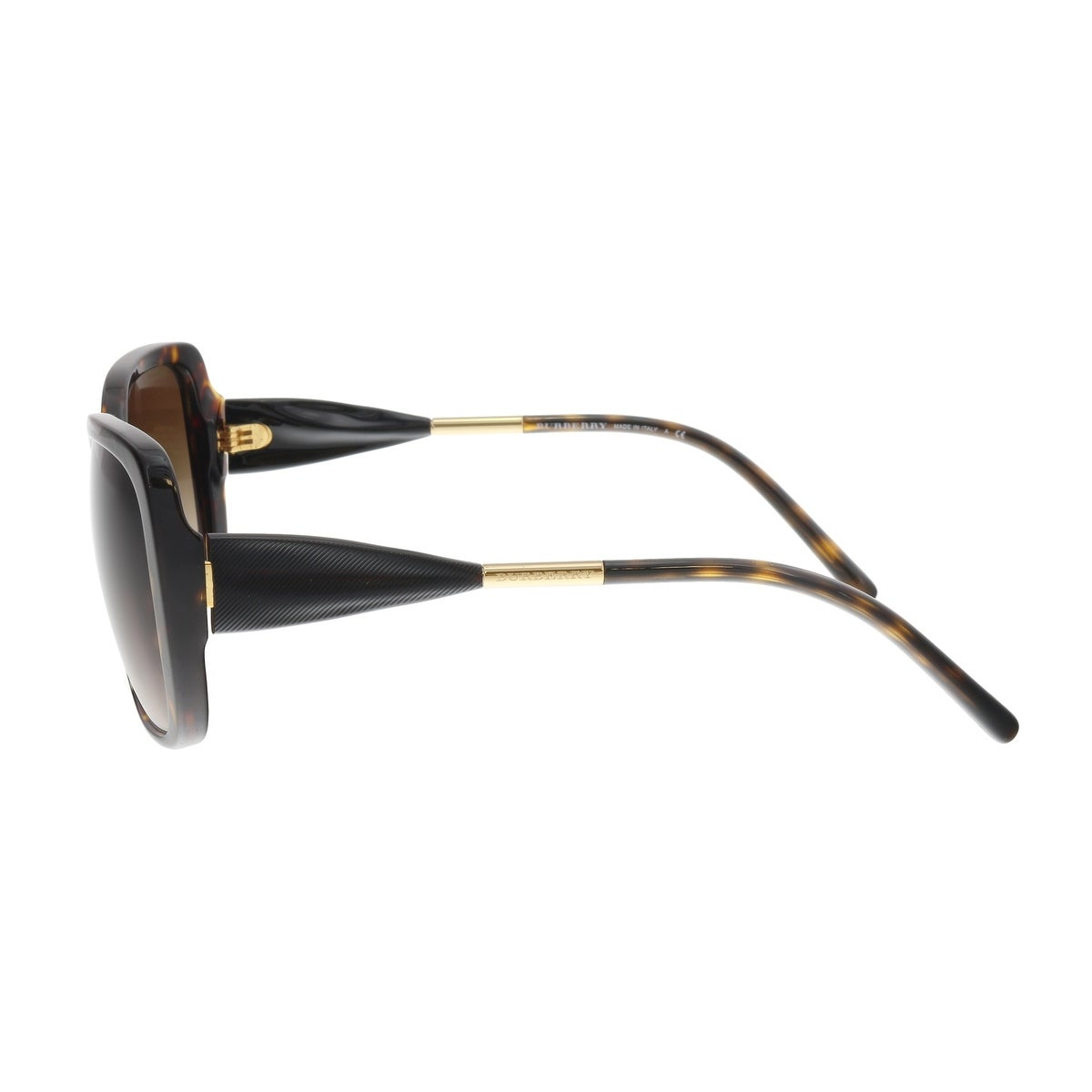 d8683643a963 Shop Burberry BE4192F 3002 13 Black Brown Square Sunglasses - 56-17-140 -  Free Shipping Today - Overstock.com - 19881349