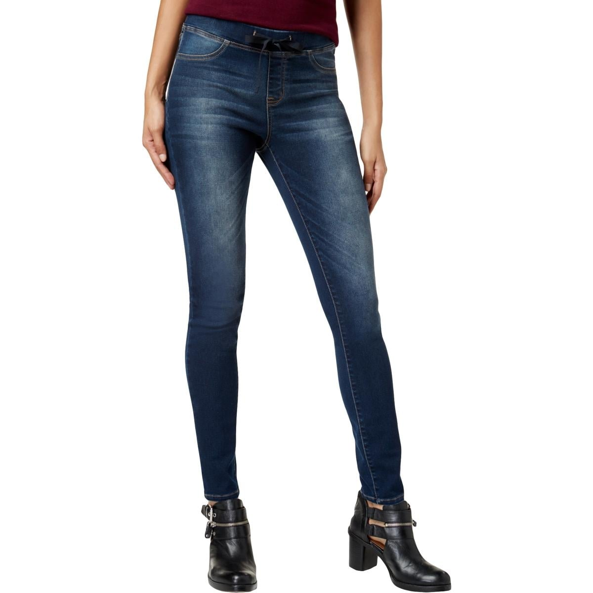 55447a54e3400 Shop Black Daisy Womens Shay Jeggings Dark Wash Low Rise - Free Shipping On  Orders Over $45 - Overstock - 27135043