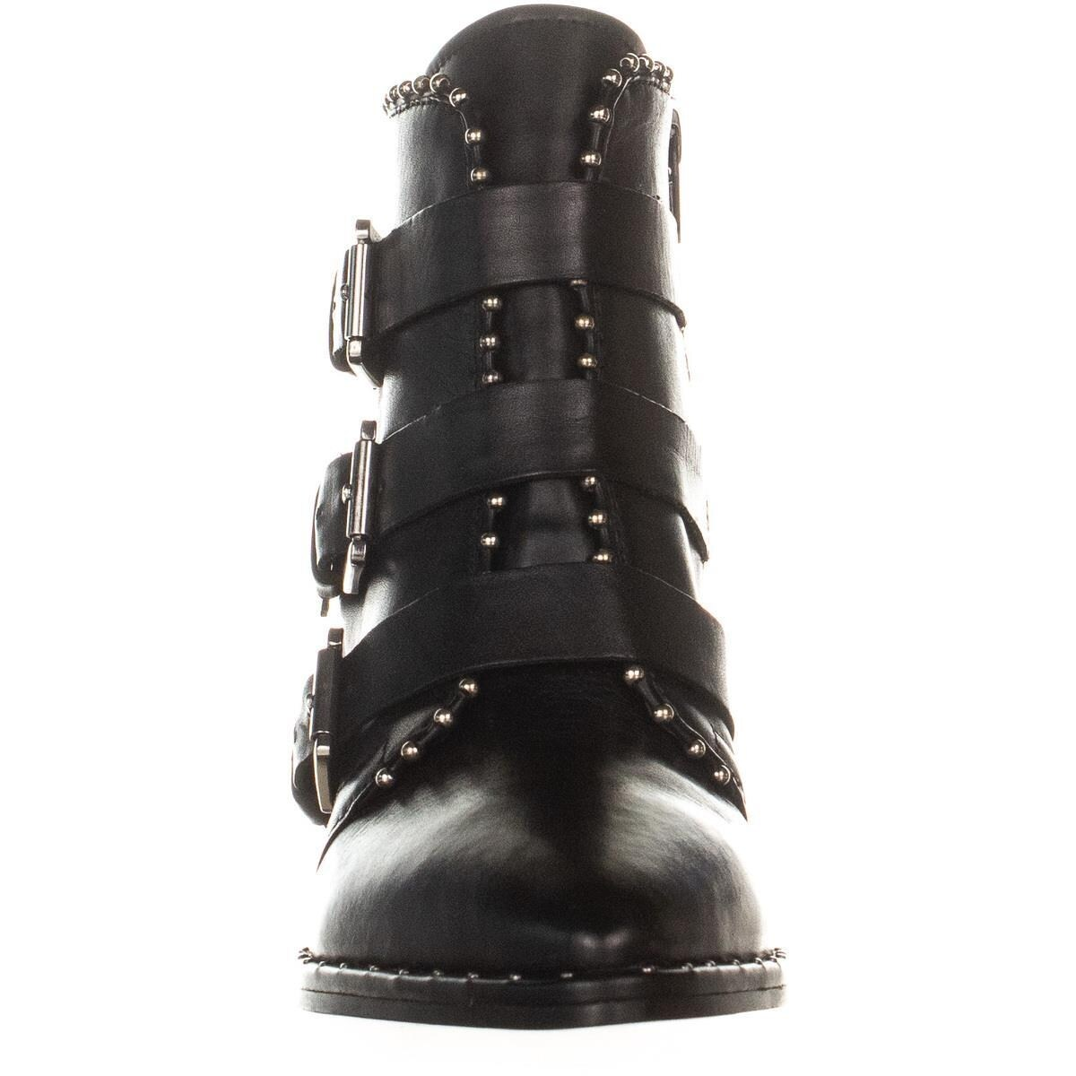 933470b956d Steve Madden Humble Triple Buckle Boots, Black