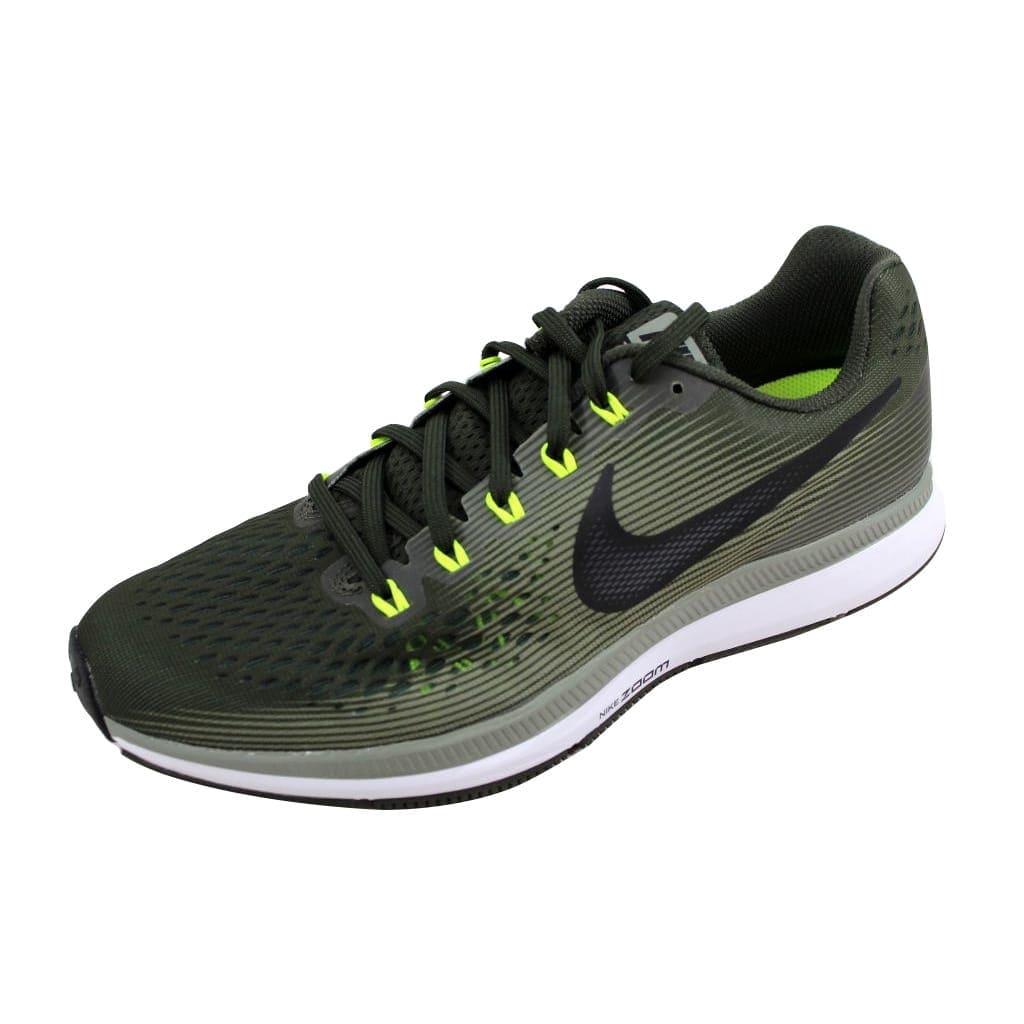 Shop Nike Men\'s Air Zoom Pegasus 34 White/Black-Gym Red 880555-302 ...