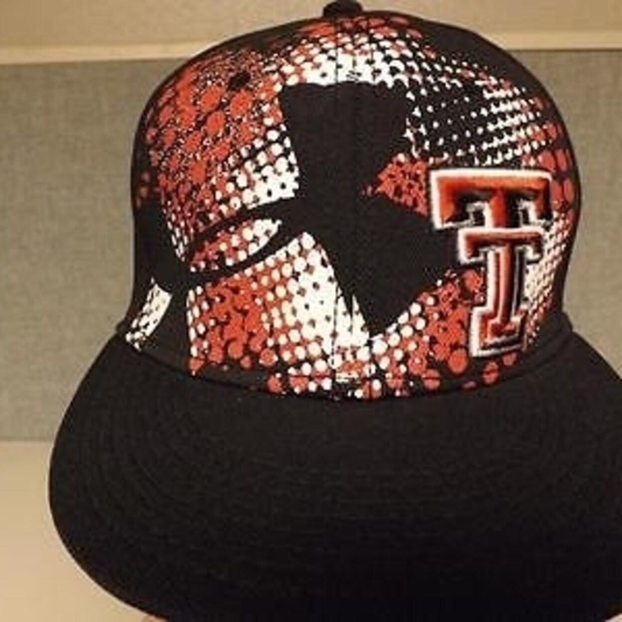 b49b7f12edb ... sale shop texas tech red raiders mens under armour size osfa snapback  hat on sale free