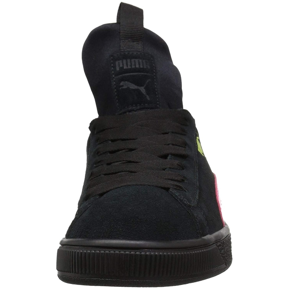 f7e2cf370961 Shop Kids Puma Girls Fierce Patent Block Jr Hight Top Lace Up Basketball  Shoes - Free Shipping On Orders Over  45 - Overstock - 26262873