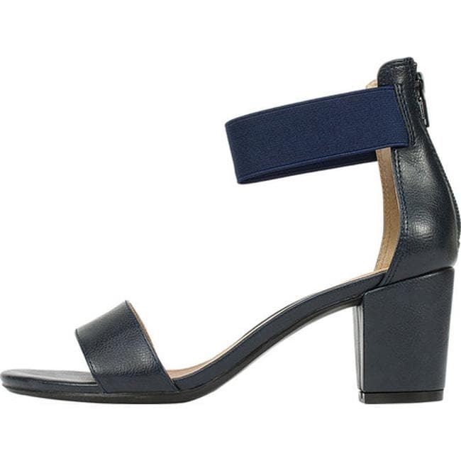 7632d5d5c5f Shop White Mountain Women s Ermaline Ankle Strap Sandal Navy Smooth  Polyurethane - On Sale - Free Shipping On Orders Over  45 - Overstock -  14675334