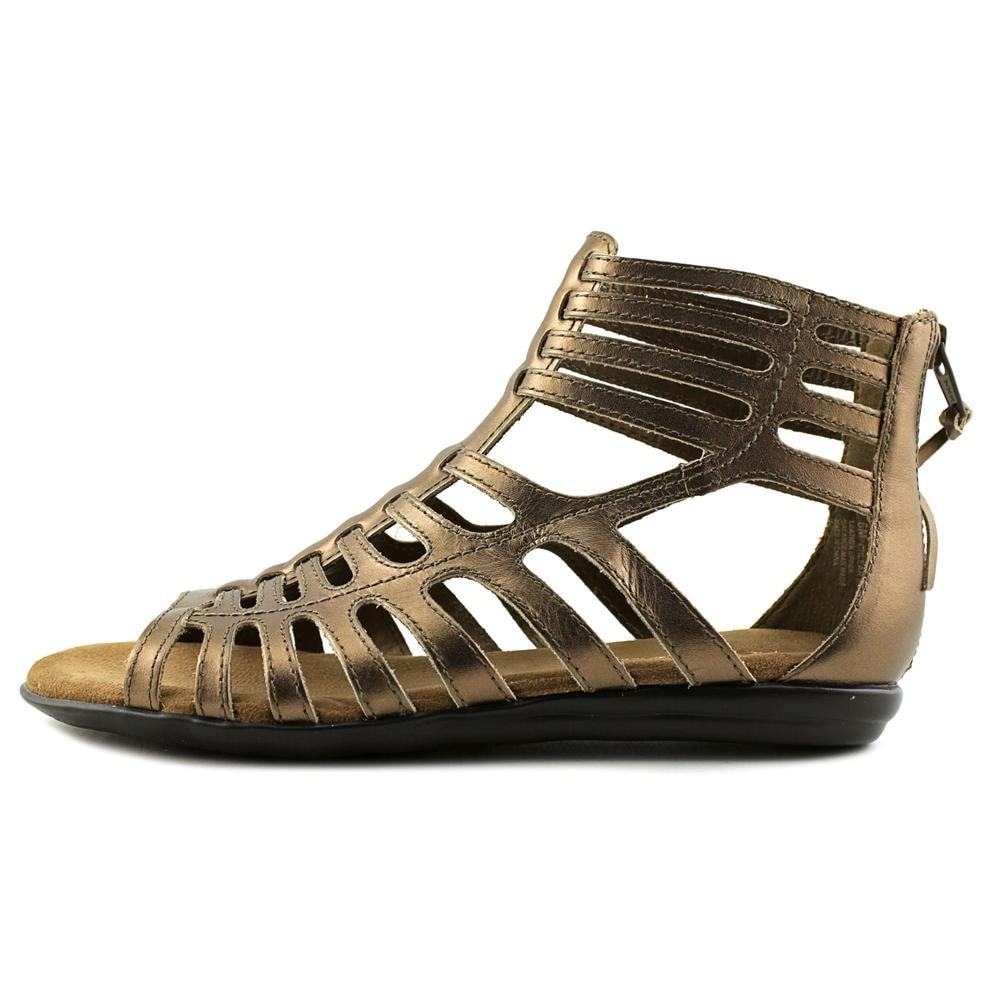 6550d0803c48 Shop Aerosoles Chlear Sky Women Open Toe Leather Bronze Gladiator Sandal -  Free Shipping On Orders Over  45 - Overstock - 16876155