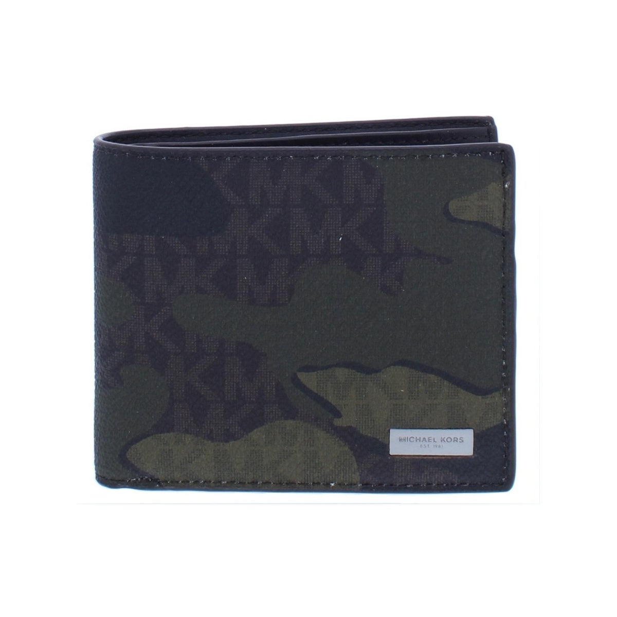 1416c01d9308 Shop Michael Kors Mens Jet Set Bifold Wallet Faux Leather Camouflage - O S  - Free Shipping Today - Overstock - 26566306