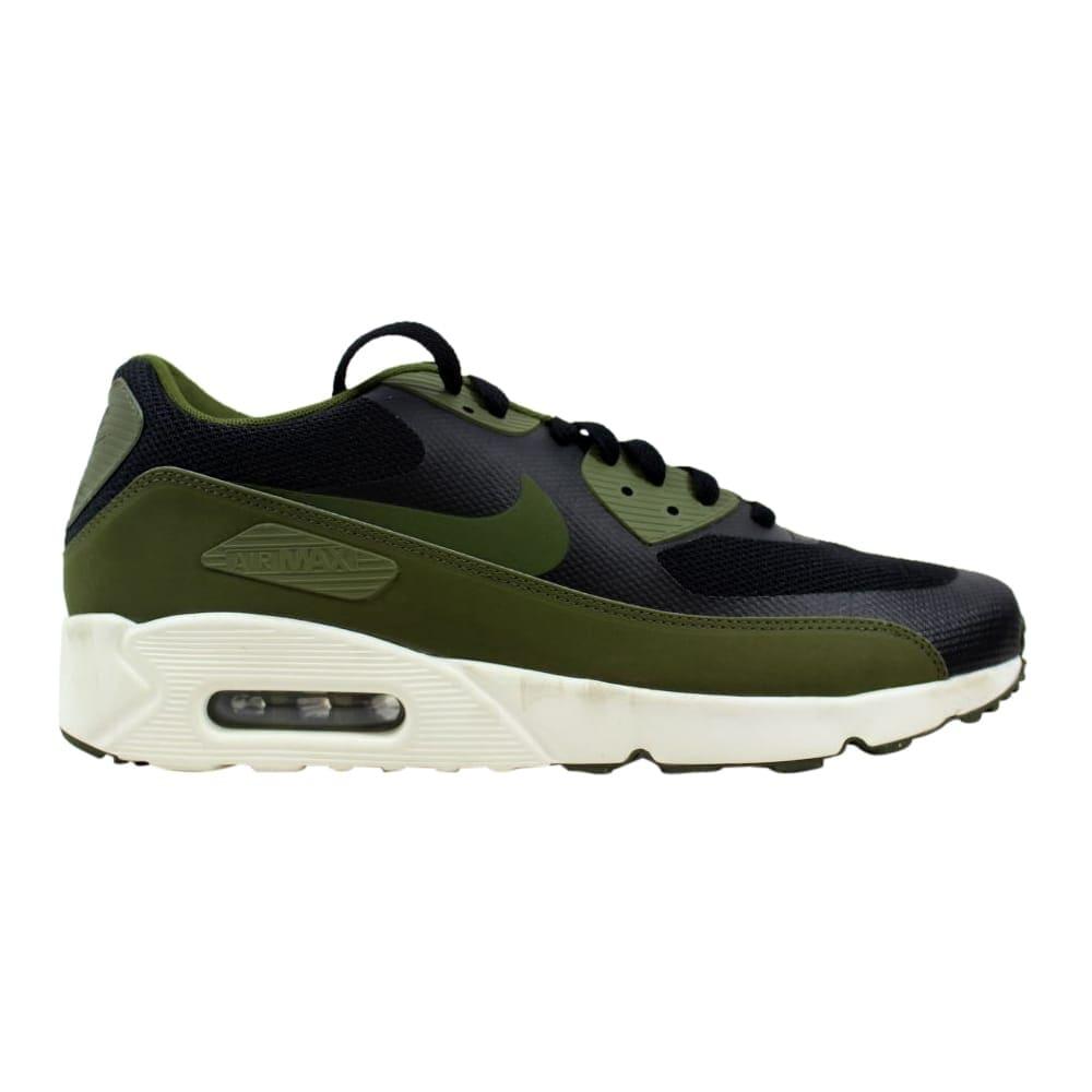 hot sale online 4b97d 5dc33 Shop Nike Air Max 90 Ultra 2.0 Essential Black Legion Green-Sail .