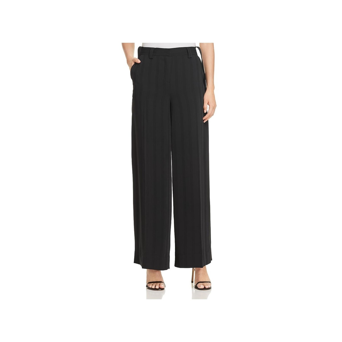 37fbbed726 Shop Kenneth Cole Womens Wide Leg Pants Striped High-Waisted - Free  Shipping On Orders Over $45 - Overstock - 23447099