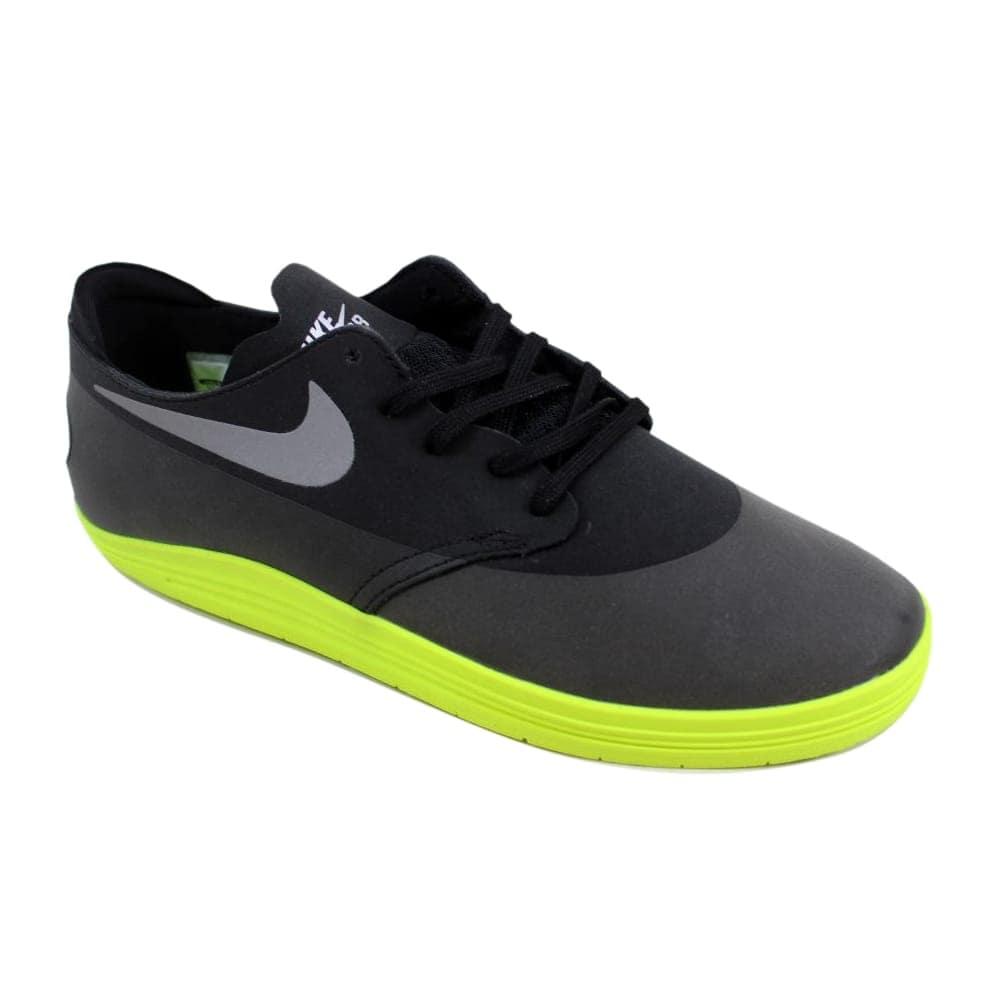 super popular ff9f0 5cc03 Shop Nike Lunar Oneshot Black Reflect Silver-Volt Men s 631044-009 Size 8.5  Medium - Free Shipping Today - Overstock - 24016452