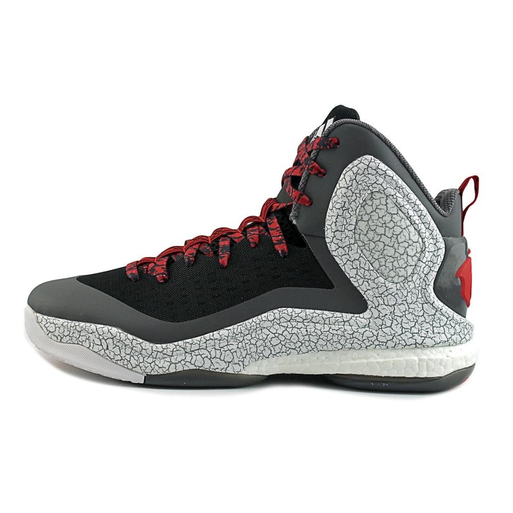 ed0bf6028d27 Shop Adidas D Rose 5 Boost Men Round Toe Synthetic Black Basketball Shoe -  Free Shipping Today - Overstock - 17126892