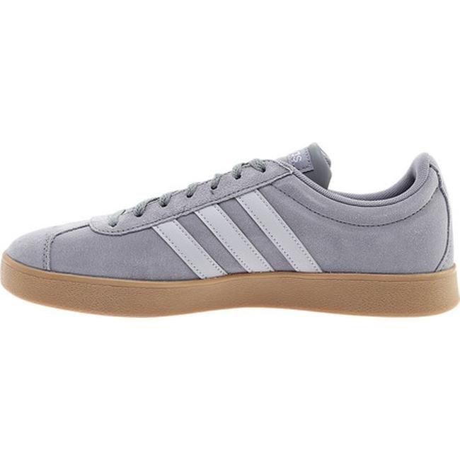 quite nice cb248 db6ff Shop adidas Mens Vl Court 2.0 Trainer Grey ThreeGrey TwoGum - Free  Shipping Today - Overstock - 20959816