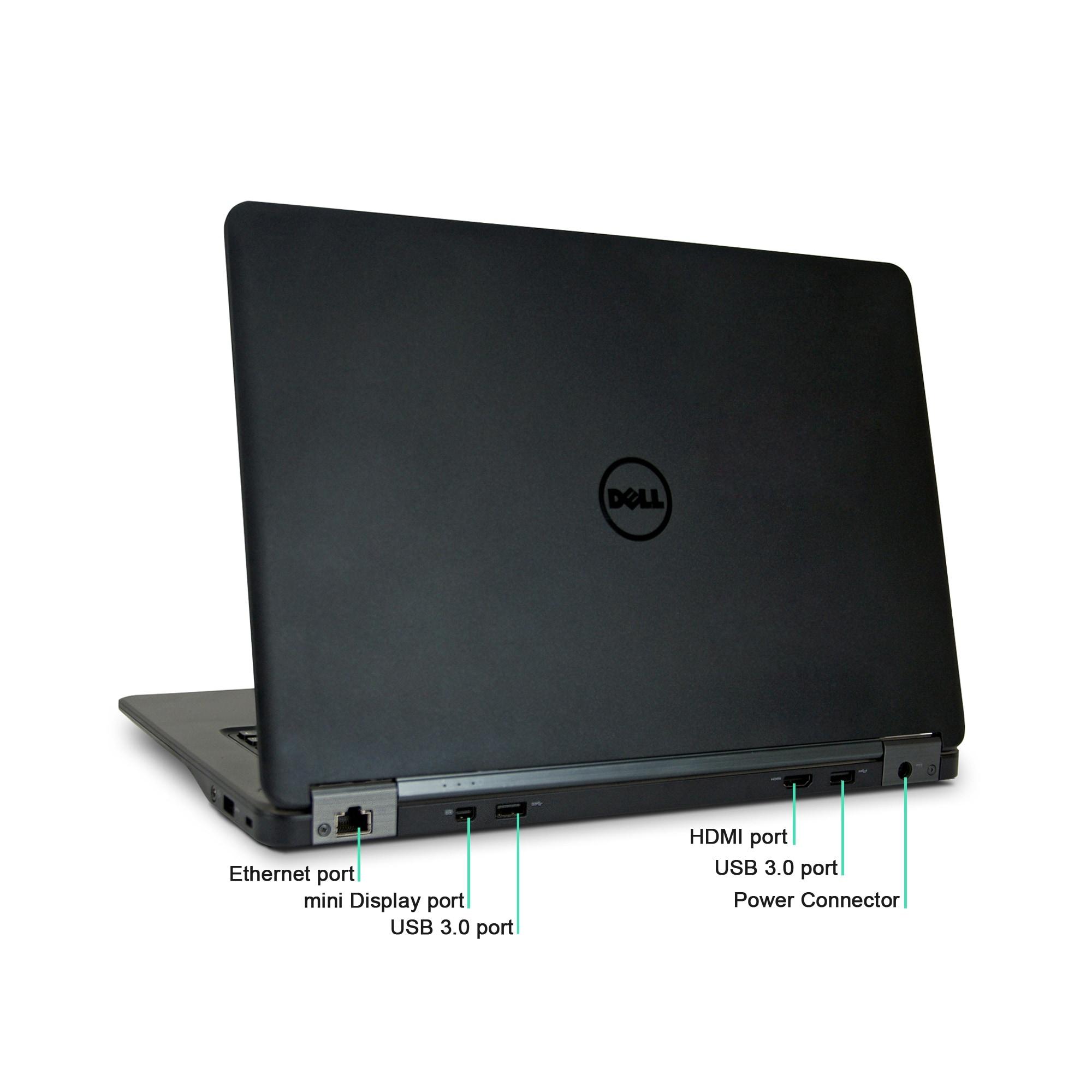 Dell Latitude E7450 Core i7-5600U 2 6GHz 16GB RAM 500GB SSD Win 10 Pro 14