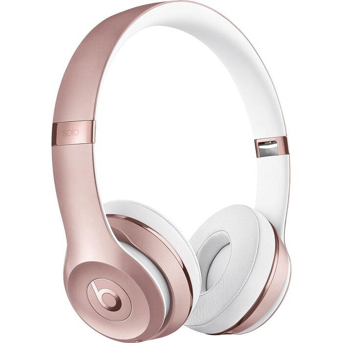 3ed9e03de2e Shop Beats by Dr. Dre - Beats Solo 3 Wireless Headphones - Rose Gold ...