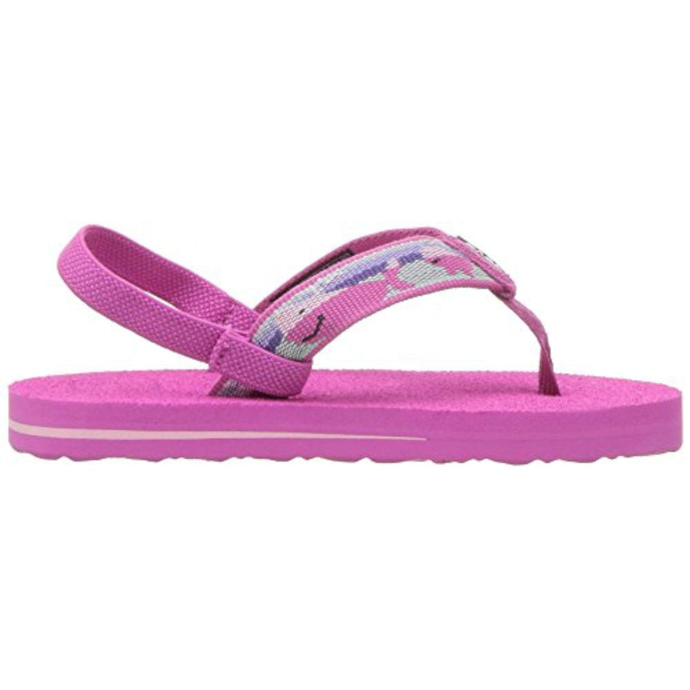ffbc14ad4 Shop Teva Girls mush II Bungee Ankle Strap Flip Flops - Free Shipping On  Orders Over  45 - Overstock - 22117537