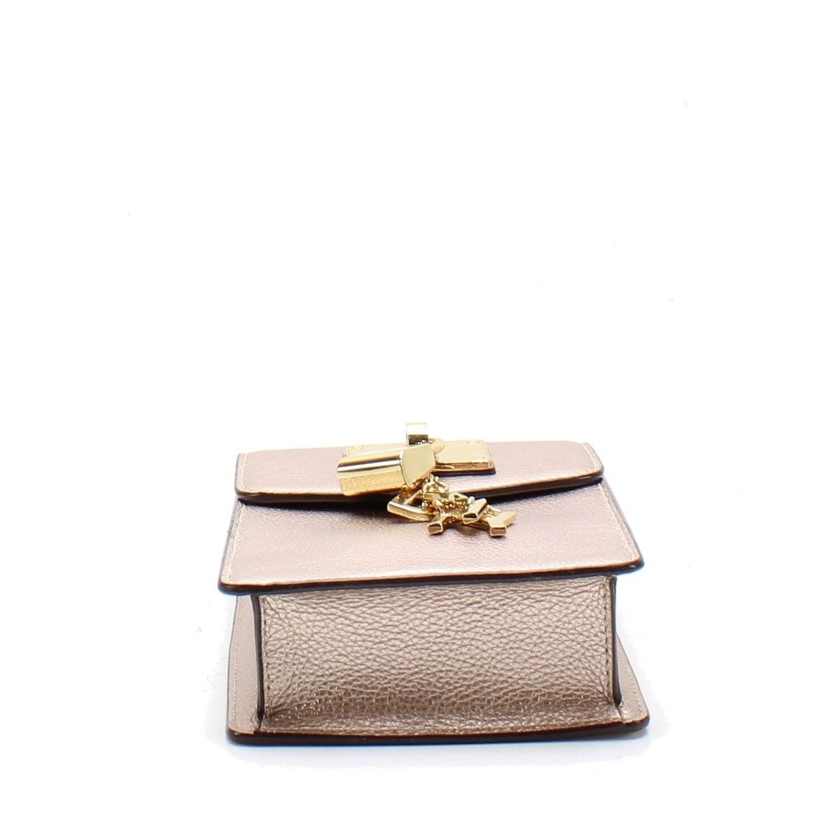c72457ad6 Shop DKNY Elissa Pebbled Charm Mini Chain Strap Crossbody Bag Rosegold -  Ships To Canada - Overstock - 27297324