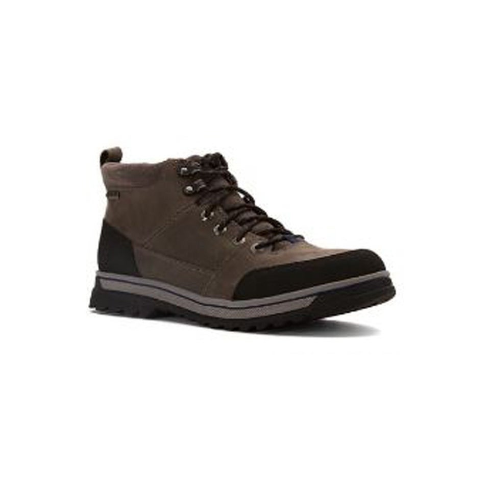 f9db6182479 Clarks Ripway Top GTX Goretex Ankle Boot in Tobacco