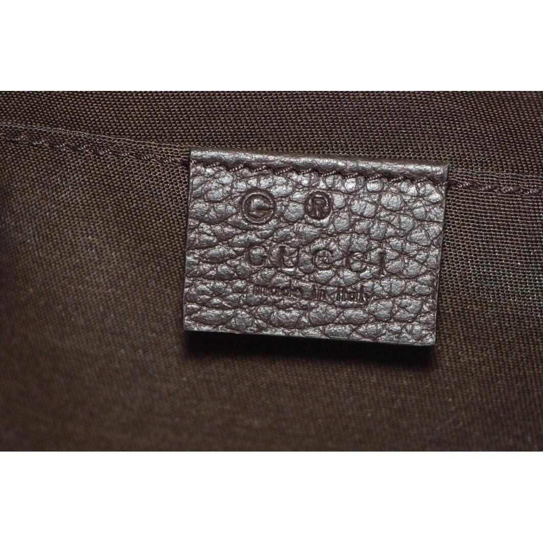 90c26e277d8 Shop Gucci 449174 GG Guccissima Small Canvas GG Waist Belt Fanny Pack Bag -  Brown - 9