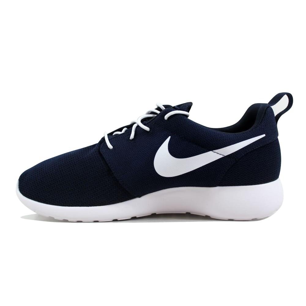 cfbf9703c79e Shop Nike Roshe One Obsidian White Men s 511881-423 Size 10.5 Medium - Free  Shipping Today - Overstock - 27339737