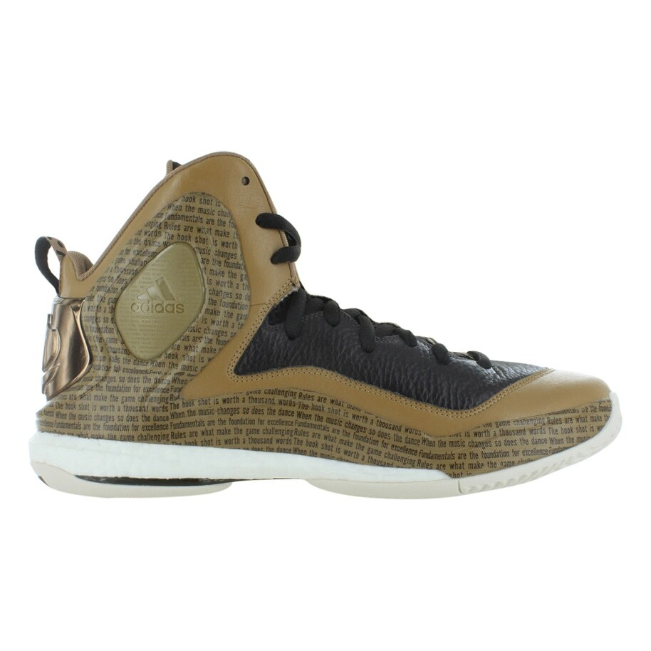 best website 9c576 fbcf6 Adidas ASP D Rose 5 Boost BHM (Black History Month) Mens Shoes Size - 12.5  d(m) us - Free Shipping Today - Overstock - 27633888