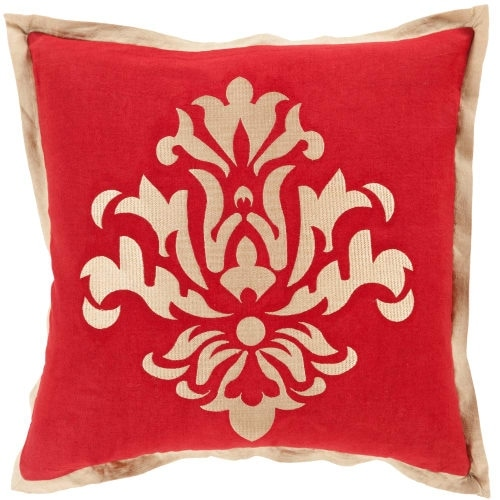 Shop Surya CT40 Square Indoor Decorative Pillow With Down Or Mesmerizing Overstock Decorative Pillows