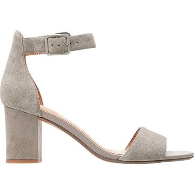 d7564875d77 Shop Clarks Women s Deva Mae Ankle Strap Sandal Sage Suede - Free Shipping  Today - Overstock - 20590131
