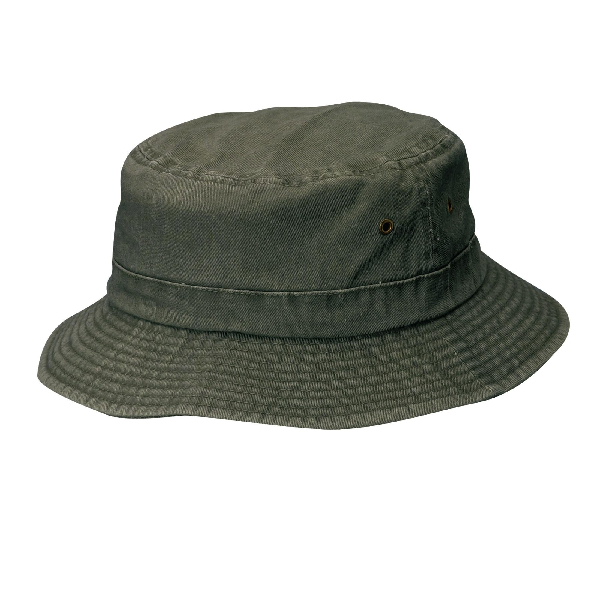 cd81bb8f Shop Dorfman Pacific Cotton Big and Tall Summer Bucket Hat 2XL 3XL - Ships  To Canada - Overstock - 14278362