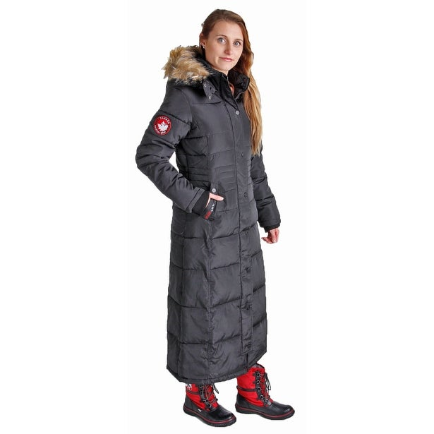 40a030c22 Shop Canada Weather Gear Women's Faux Goose Down Heavyweight Jacket Coat -  Free Shipping Today - Overstock - 18880501