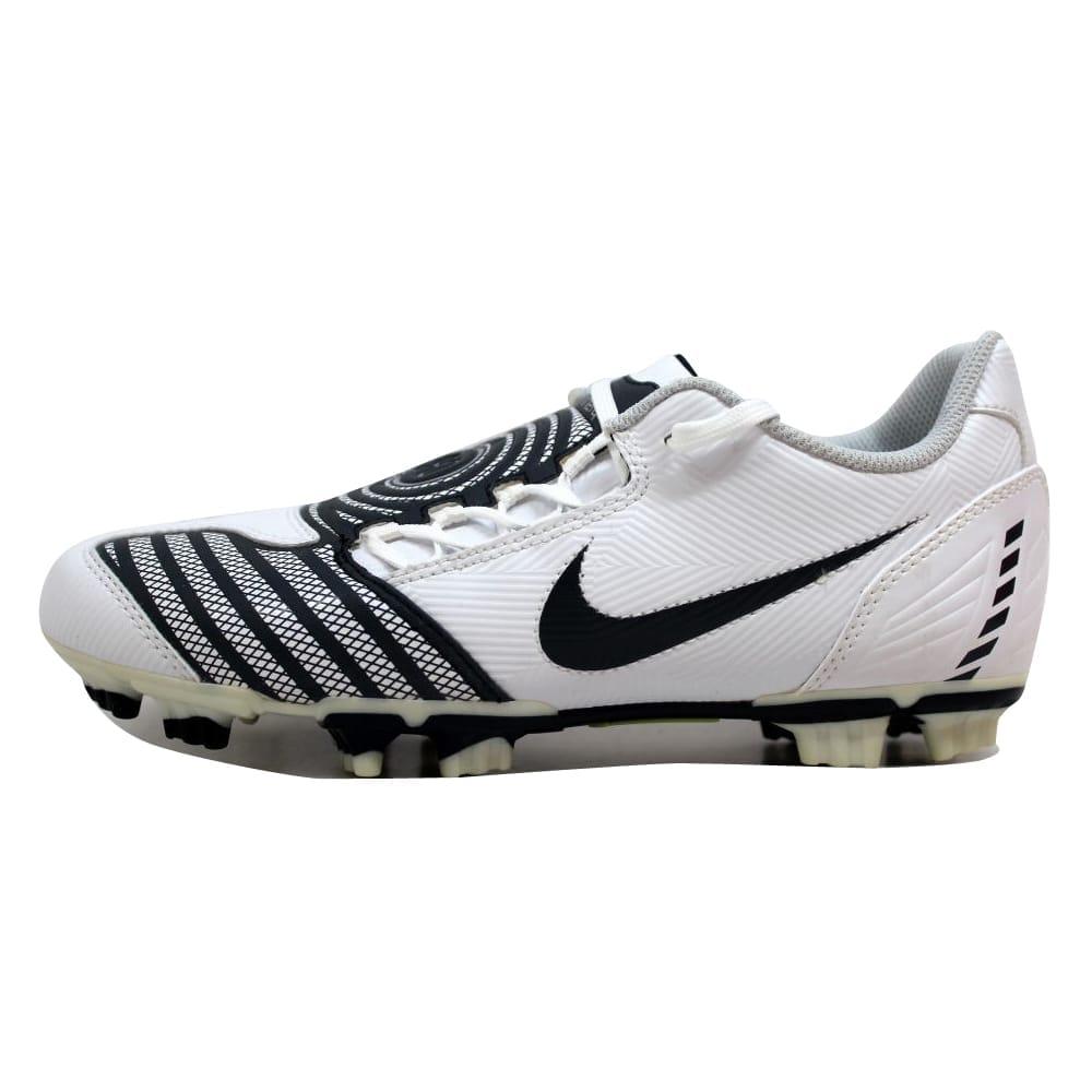 d6acbcfe73f Shop Nike JR Total 90 Shoot II 2 FG White Dark Obsidian-Metallic Silver  Grade-School 318873-141 Size 6 Medium - On Sale - Free Shipping On Orders  Over  45 ...