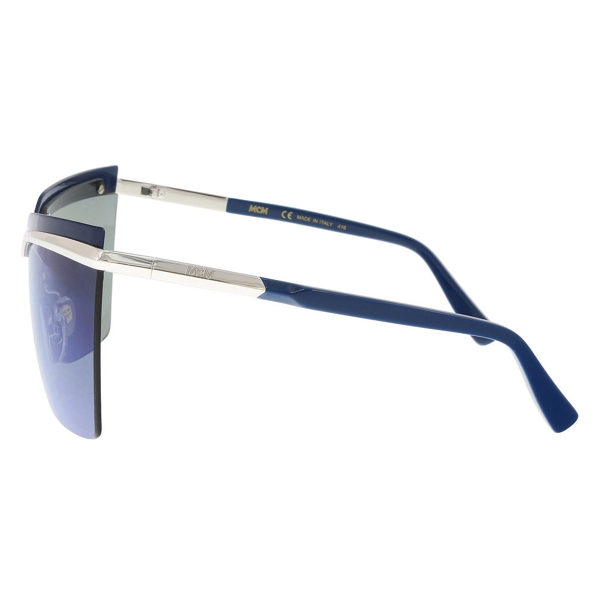 56e9c59600 Shop MCM MCM106S 45 Silver Shield Sunglasses - 65-19-135 - On Sale - Free  Shipping Today - Overstock - 20005129
