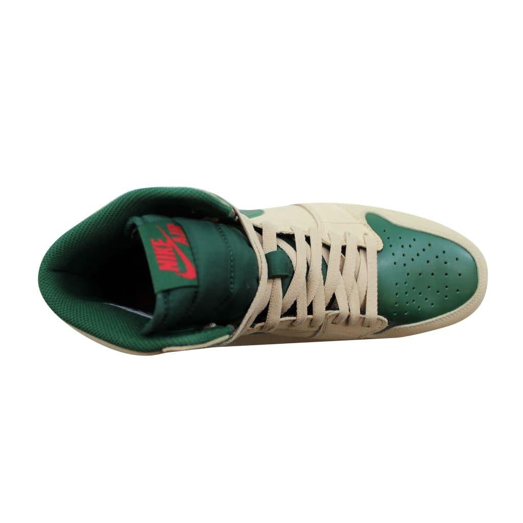 big sale 339bb f61c2 Shop Nike Men s Air Jordan 1 High The Return Sand Dune University Red-Gorge  Green-White 768861-206 - Free Shipping Today - Overstock - 21893612
