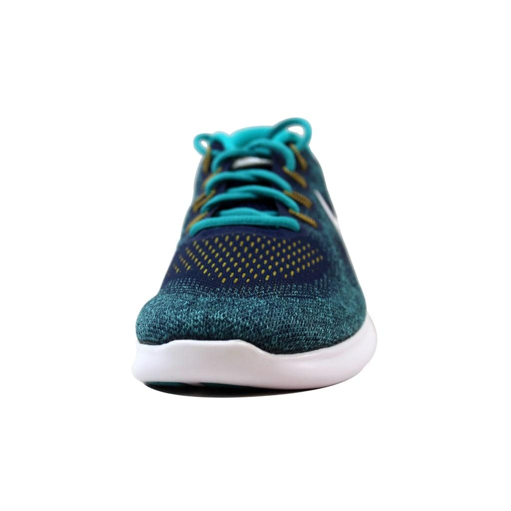 db945c343bc1 Shop Nike Men s Free RN 2017 Binary Blue White-Turbo Green 880839-403 - Free  Shipping Today - Overstock - 21141381