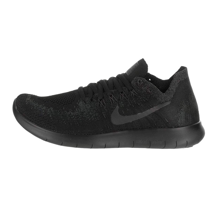 7c5153b6e51a8 Nike Womens Free RN Flyknit 2017 Fabric Low Top Lace Up Running Sneaker