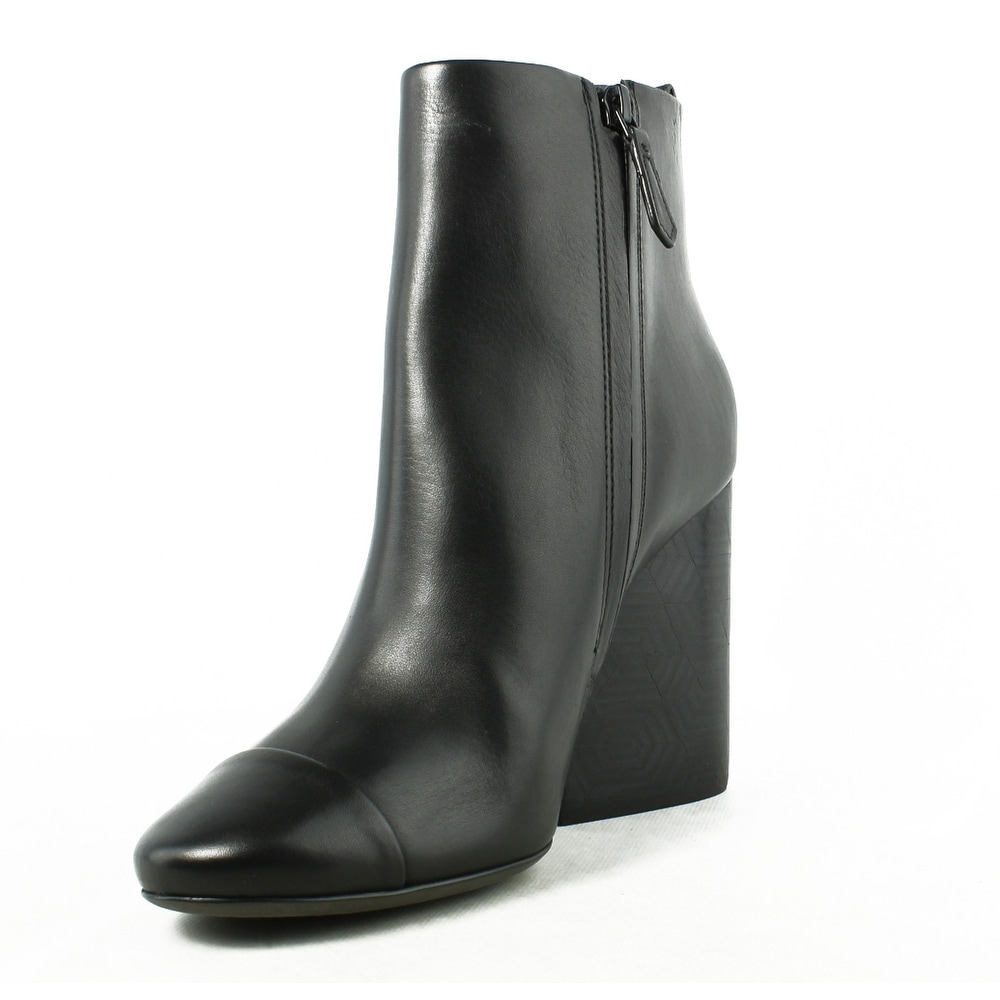 995c0073eaa Shop Tory Burch Womens Grove Black Booties Size 9.5 - Free Shipping Today -  Overstock.com - 23588160